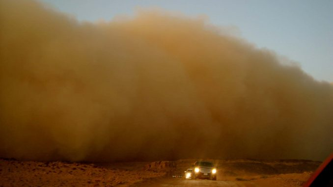 Cashyourcaruae.com safety tips for sandstorm