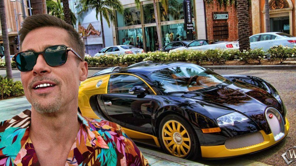 Brad Pitt bugatti