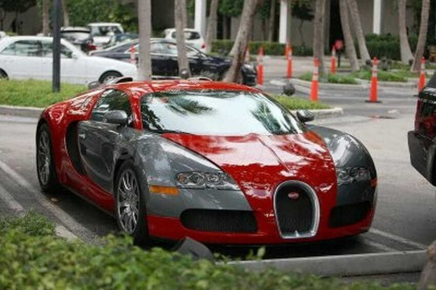 Chris Brown bugatti