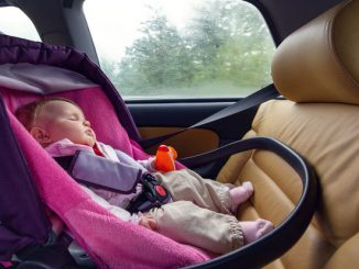 leaving the child in the car